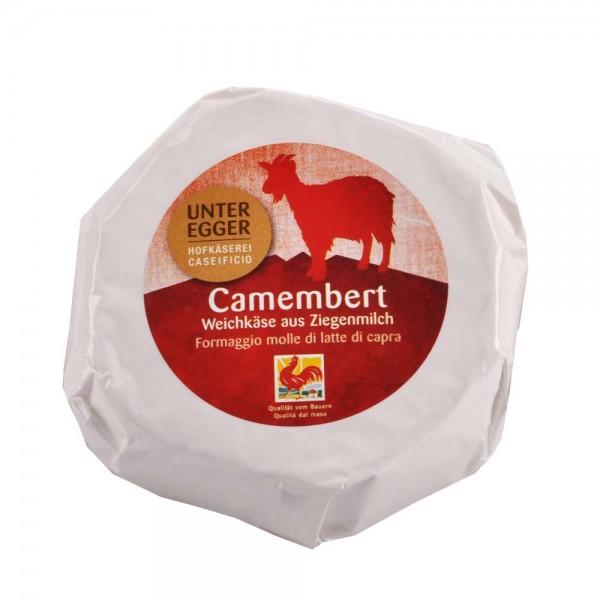 Ziegenweichkäse Camembert Unteregger 250g