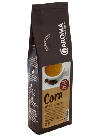"Arabica Robusta ""Cora"" Bohnen - Caroma Kaffee"