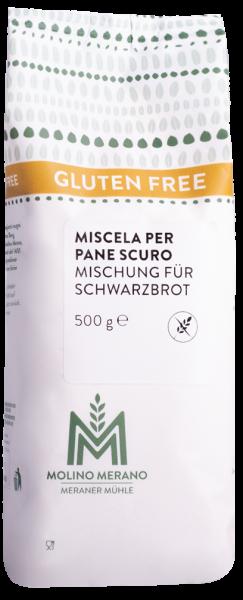 Miscela per pane scuro senza glutine - Meraner Mühle