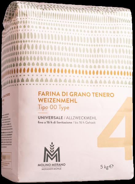 Farina di grano tenero nr. 4 tipo 00 - Meraner Mühle