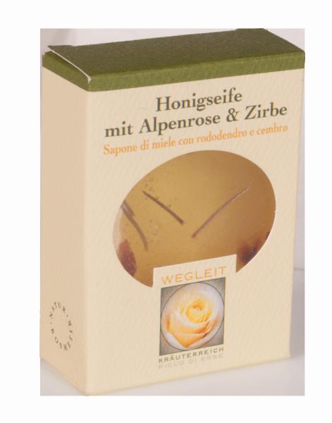 Sapone al miele Cembro e Rododendro - Kräuterreich Wegleit