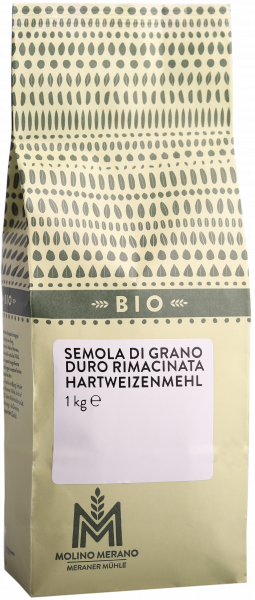 Semola di grano duro rimacinata Bio - Meraner Mühle