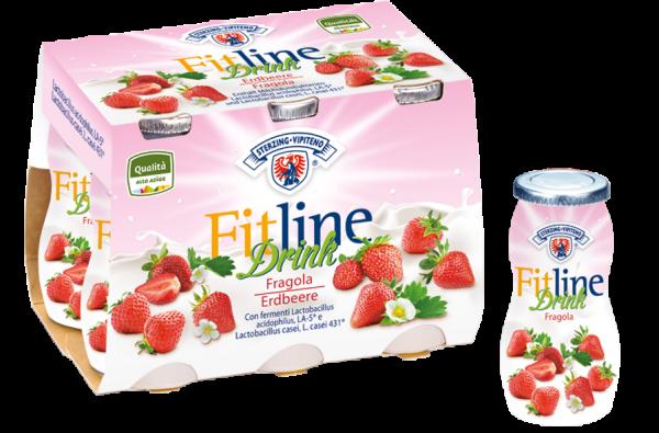 Drink Erdbeere FitLine - Milchhof Sterzing