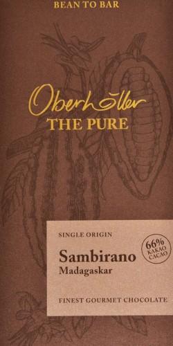 "Cioccolata gourmet ""Sambirano"" 66% - Oberhöller"