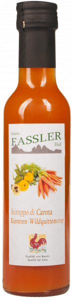 Sciroppo di mela cotogna selvatica e carote - Fasslerhof