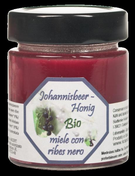 Schwarze Johannisbeere Honig Bio - Südtiroler Kräutergold