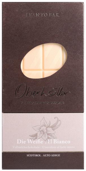 Weiße Vollmilchschokolade - Oberhöller