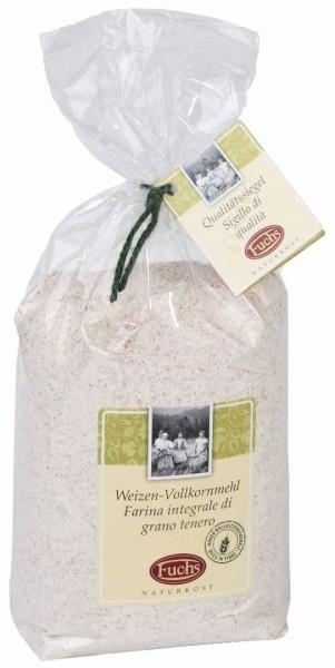 Weizen Vollkornmehl 1kg - Fuchs Privatmühle
