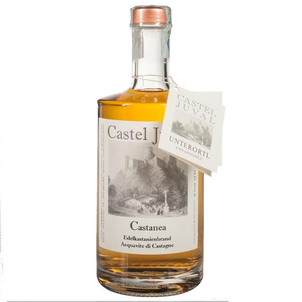 """Acquavite di castagne """"Castanea"""" - Weingut Unterortl"""