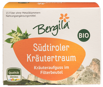 Südtiroler Kräutertraum Tee Bio - Bergila