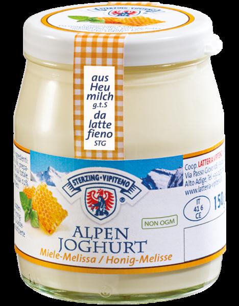 Honig Melisse Alpenjoghurt - Milchhof Sterzing