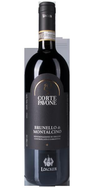 """Brunello di Montalcino """"Corte Pavone"""" Bio 2012"""