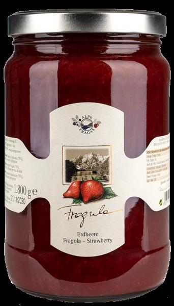 Composta di fragole - Alpe Pragas
