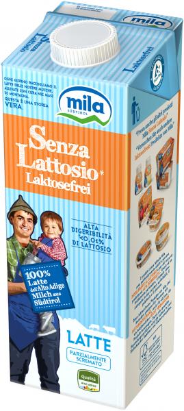 H-Milch Laktosefrei - Mila Bergmilch