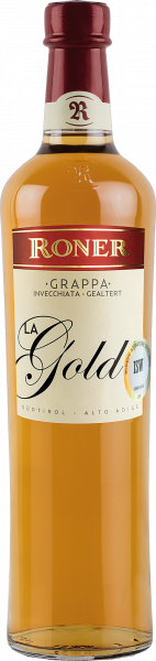 "Grappa ""La Gold"" 12 Monate - Roner"