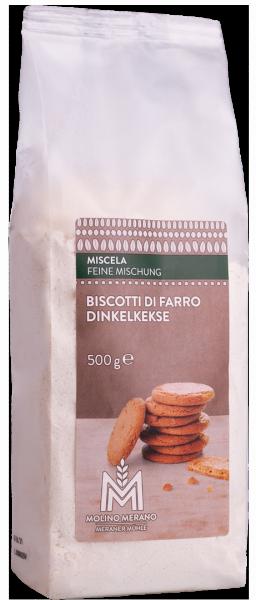 Biscotti di farro miscela - Meraner Mühle