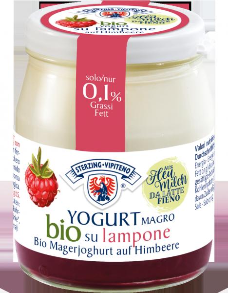 Magerjoghurt auf Himbeere Bio