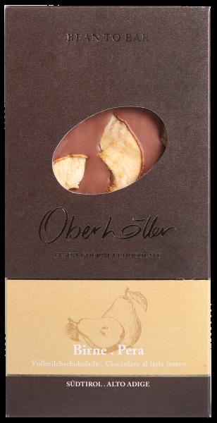 Vollmilchschokolade mit Birne - Oberhöller