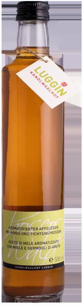 Aceto di mele con miele e germogli di abete Bio - Luggin