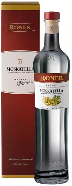 Acquavite di Uva Moscato Privat - Roner