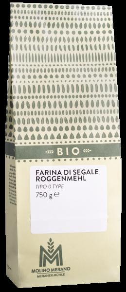 Farina di segale tipo 0 Bio - Meraner Mühle