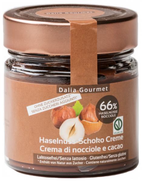 Haselnuss - Schokocreme Stevia
