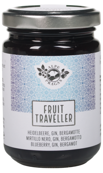 Heidelbeere, Gin, Bergamotte Fruit Traveller Fruchtaufstrich