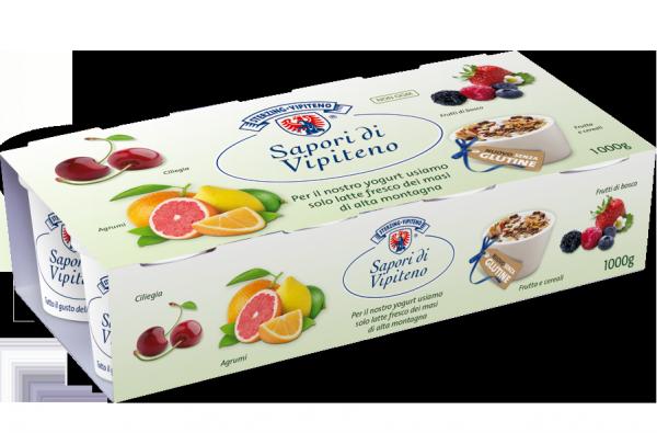 Yogurt intero mix di frutta - Milchhof Sterzing