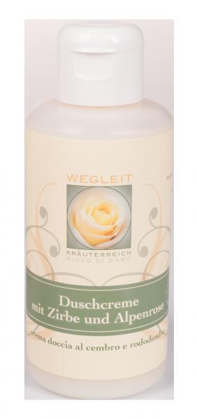 Duschcreme mit Zirbe und Alpenrose