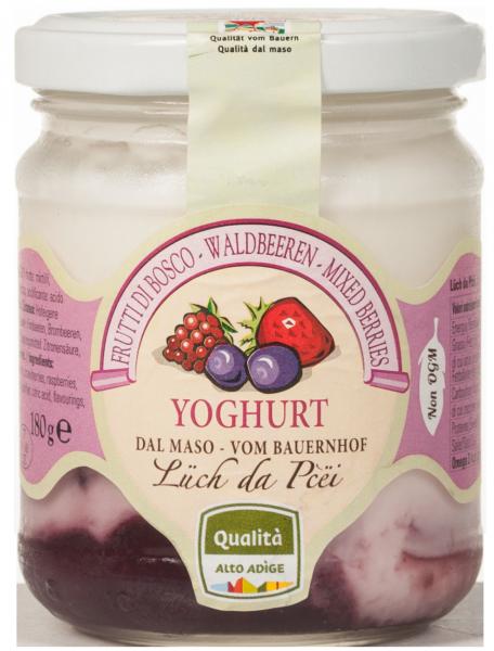 Yogurt ai Frutti di bosco dal maso