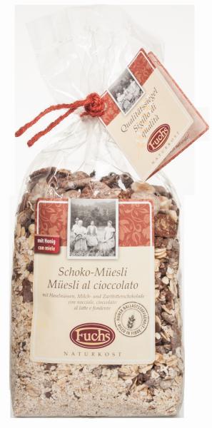 Müsli mit feiner Schokolade - Fuchs Privatmühle