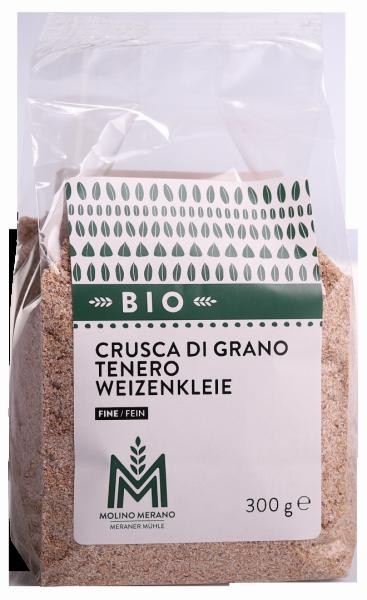 Crusca di grano tenero bio - Meraner Mühle