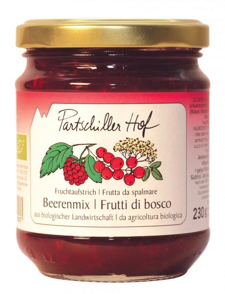 Beerenmix Fruchtaufstrich Bio