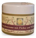 Crema per il viso all`abete rosso e alla rosa - Kräuterreich Wegleit