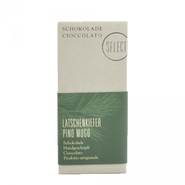 Latschenschokolade Select Oberhöller 50g