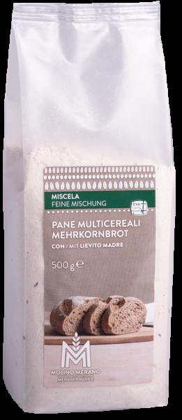 Mehrkornbrot Backmischung - Meraner Mühle