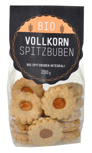 Vollkorn Spitzbuben Bio - Bäckerei Schuster