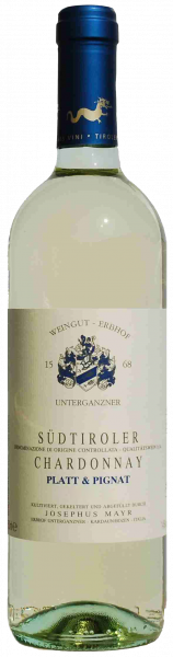 """Chardonnay """"Platt & Pignat"""" 2019 - Weingut Unterganzner"""