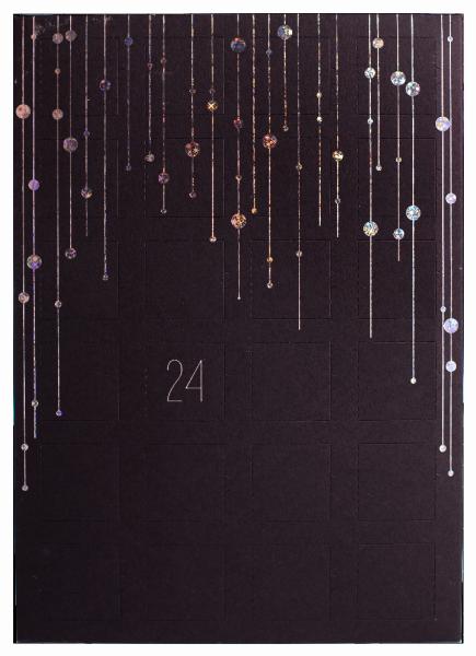Calendario d'avvento con praline - Konditorei Peter