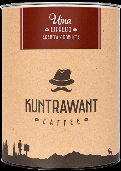 Espresso 85% Arabica 15% Robusta macinato - Kuntrawant