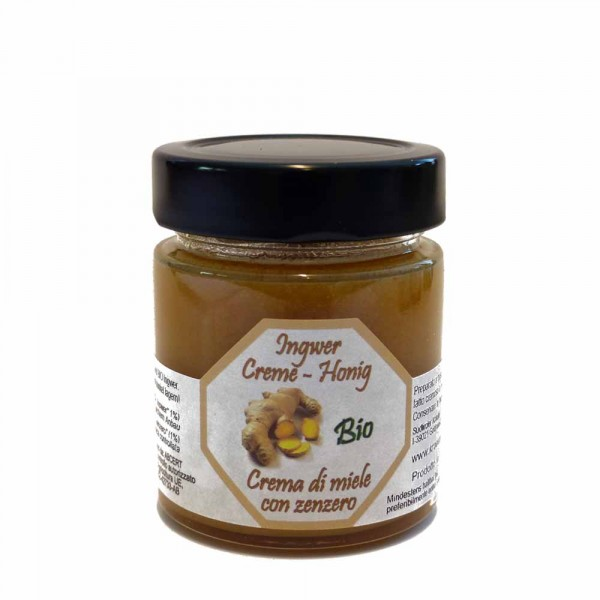 Südtiroler Kräutergold Ingwer Honig 170g