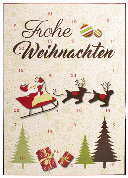 """Adventskalender """"Frohe Weihnachten"""" - Konditorei Peter"""