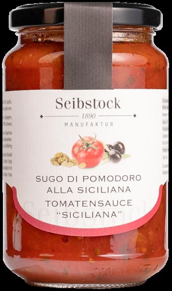 Sugo alla Siciliana Olive e Caperi - Seibstock Manufaktur