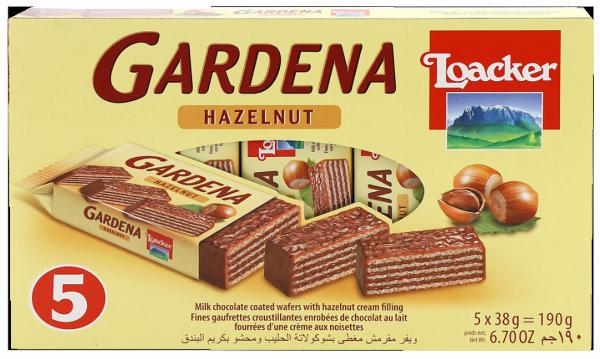 Gardena Hazelnut - Loacker