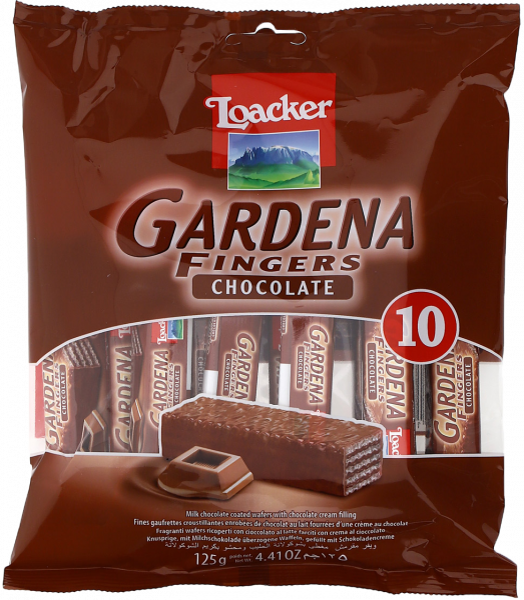 Gardena Fingers Chocolate - Loacker