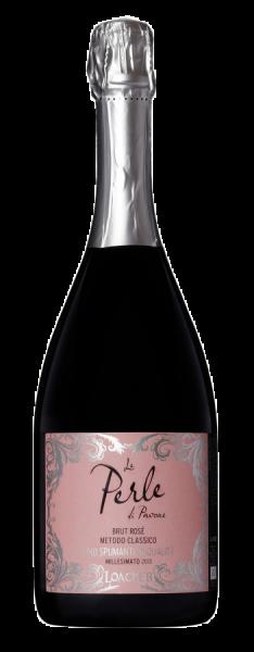 """Sekt Rosé Brut """"Le Perle di Pavone"""" 2014 - Weingut Loacker"""