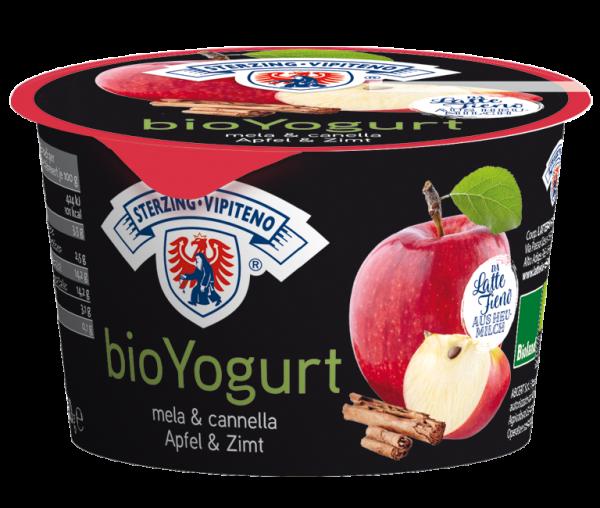 Apfel Zimt Vollmilchjoghurt aus Heumilch Bio - Milchhof Sterzing