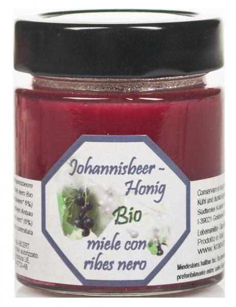 Schwarze Johannisbeer Honig Bio