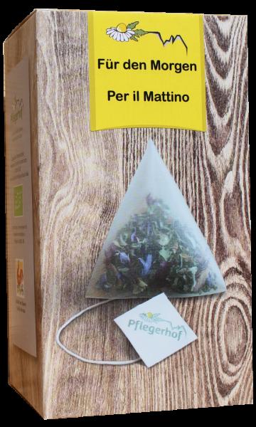 Tisana Per il Mattino Bio bustine - Pflegerhof