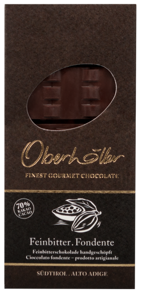 Feinbitterschokolade 70% - Oberhöller